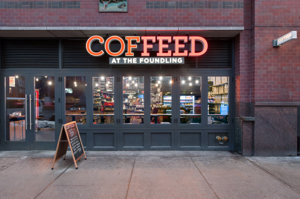 Coffeed at the Foundling