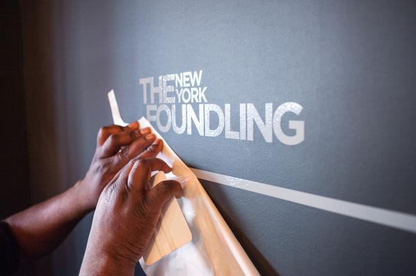 The New York Foundling Archigrafika Installation