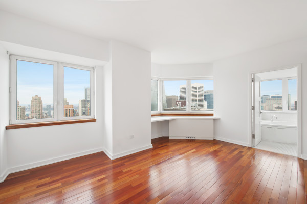 Hardwood Cherry Floors New York City Apartment