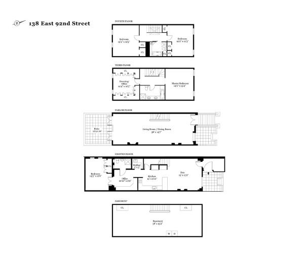 138 East 92nd Street Floor Plan