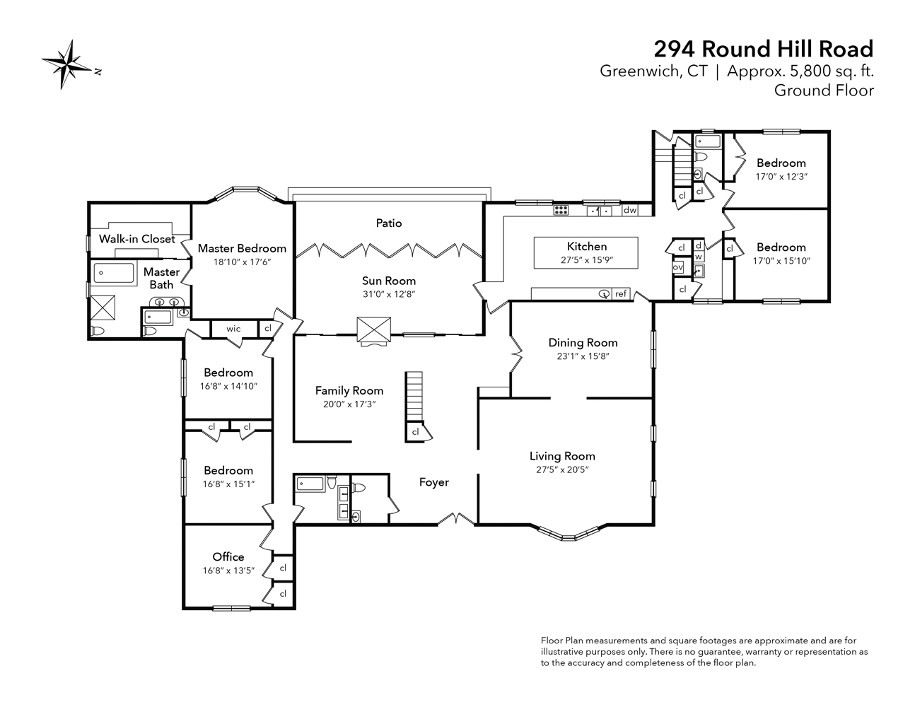 294 Round Hill Road Floor Plans-01
